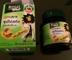 バンコクで流行の栄養ドリンク