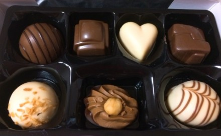 タイ ミニアソートチョコレート
