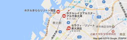 泉大津地図