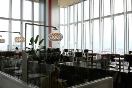 あべのハルカス17階カフェ